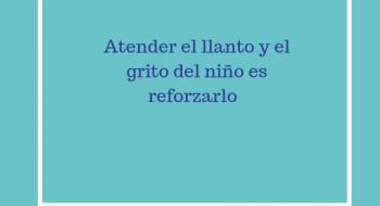 ATENDER EL LLANTO Y GRITO